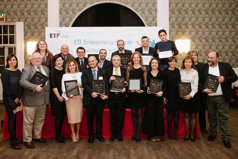 Good Practice Awards by the European Training Foundatio ETF in 2016